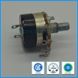 High Quality 24mm Rotary Potentiometer with Switch Guitar Potentiometer B5k, B50k, B500k
