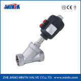 Factory Supplier Thread Type Quality Assurance Pneumatic Angle Seat Valve for Dyeing Machine/Compressed Air Dryers-Accept Paypal