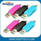 Wholesale Universal USB 2.0 Card Reader Mobile Phone PC Card Reader Micro USB OTG Card Reader OTG TF / SD Flash Memory