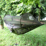 Portable Waterproof Parachute Camping Hammock Tent with Mosquito Net
