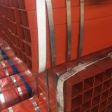 Construction Manufacturer Yellow/Red/Black Color Painted Square/Rectangular Steel Pipe