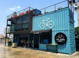 45FT Shipping Container Restaurant Outdoor Coffee Shop Design