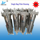 Stainless Steel Single Bag Filter Housing for Chemical Industry