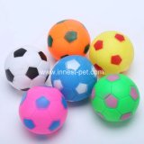 Rubber Pet Toy Dog Squeaky Football