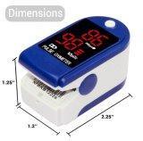 Cheap OEM Portable Finger Tip Type SpO2 Blood Pressure Digital Pulse Oximeter Medical Equipment for Baby and Adult