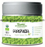 Matcha Super Green Tea Powder Japanese Style 100% Organic EU Nop Jas Certified Small Order Avaliable