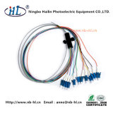 LC/PC 12 Cores 0.9mm Fiber Optic Pigtail for ODF