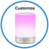 LED Bulb Smart Touch Control Music Lamp Bluetooth Speaker