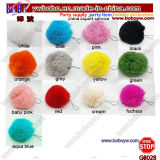 Promotion Items Promotion Keychain Fur Ball Keychain Advertising Gifts Holiday Gifts (G8028)