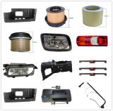 Truck Spare Parts Headlights and Bumpers