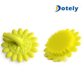 Baby Body Sunflower Brush Tiptop Scalp Scrubber, Silicone Bath Shower Brushes for Kids and Adults