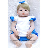"22"" Reborn Baby Doll Silicone for Girl Born Dolls Gift"