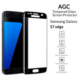 High Definition Full Curved AGC Asahi Glass 9H 3D Mobile Phone Accessories Tempered Glass Screen Protector for Samsung, Samsung Galaxy S7 edge