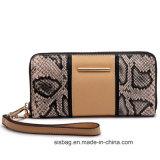 Designer Snake PU Leather Lady Wallet Fashion Card Wallet
