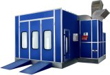 Auto Spray Booths with Italian Riello G20 Diesel Burner