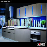 2016 Welbom Wholesale Kitchen Cabinet with Glass Front Cabinet Doors