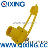 Cee Large Current Yellow Rhino Horn Socket