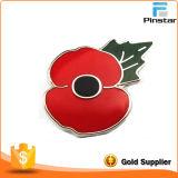 100 Years Anniversary Souvenir Traditional Poppy Pin Badge