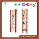 6-Tiered 6 Pocket Literature Rack for Wall Mount