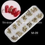Factory Direct Sale 2D Metal Nail Art Designes