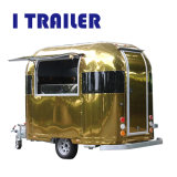 I Trailer Golden Aluminum Food Car