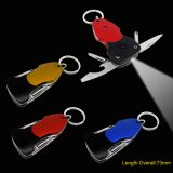 Multi Function Key Chain Tools with LED Torch (#6128)