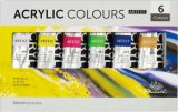 Artist Fine Professional Acrylic Paint Set (6/10colors) -Superior Colourful DIY Modern Paint