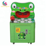 Children Mini Kids Hit Frog Small Coin Operated Video Hammer Game Machine