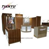 Trade Show Wooden Modular Exhibition Booth Design in Hongokong