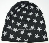 Printed Fashion Jersey Hat with Star Pattern (HY17092004)