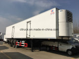 Fiber Glass Steel Cooling 3 Axle 50000 Liters Refrigerated Trailer