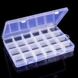 Professional Cheapbox Plastic Storage/ Detachable 6 Compartments Clear Plastic Storage Box