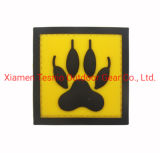 PVC with Velcro Backing, Hook and Loop, Military and Tactical Accessory for Clothing-Jackets-Hats-Backpacks