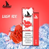 Custom Logo E Juice Salt 1.2ml Disposable Vape Electronic Cigarette
