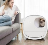 Pet Products Luxury Automatic Deodorizer Intelligent Enclosed Cat Toilet Box Furniture Auto Smart Self Cleaning Litter Box Cat Products