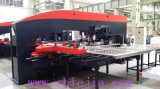 CNC Turret Punching Machine (Red + Black Color)