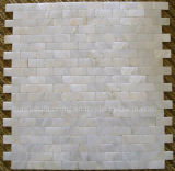 White Mother of Pearl Shell Mosaic Tile (HMP71)