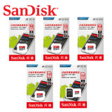 Top Sale Good Quality Sandisk Ultra 8GB 16GB 32GB 64GB 128GB 256GB Class10 U1 Micro SD Card Memory Card SD Cards for Music Video