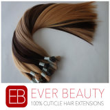 Pre-Bonded I Tip Human Hair Extensions with Keratin