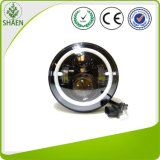 Car Light Price 7 Inch Round Halo Ring LED Headlight for Jeep