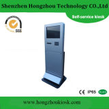 Sliver Automatic Interactive ATM Credit Card Self Service Banking Kiosk