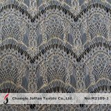 African Lurex Lace Metalic Lace Fabric (M2109-J)