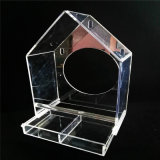 Special Clear Acrylic Bird Cage, Storage Plexiglass Bird Hamster Cage