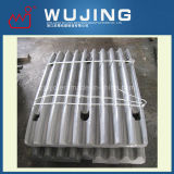 Customized High Manganese Jaw Plates for All Brands Jaw Crusher Made in China