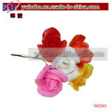 Wedding Decoration Flower Colourfast Foam Rose's Artifical Flowers (W2035)