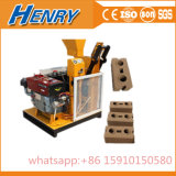 Hr1-25 Diesel Engine Power Lego Soil Clay Interlocking Brick Making Machine in Price