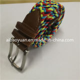 Rainbow Color Briaded Belt, Beautiful Design Belt