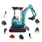 Cheap New Hydraulic Crawler Mini Excavator Tracked Mini Digger Machine Micro Excavator List Prices for Sale 0.8 Ton 1 Ton 1.5 Ton 2 Ton 2.5 Ton 3 Ton 3.5 Ton