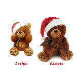 Manufacturer Wholesale Custom Soft Christmas Stuffed Animals Baby Plush Teddy Bear Gift Toys