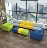Sectional Modern Fabric Leisure Style Cheap Office Combination Sofa